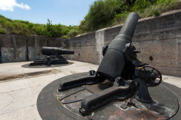 Fort DeSoto Cannons